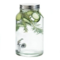 Mason Jar 1.5 Gallon Country Style Beverage Dispenser