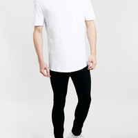 Black Spray On Skinny Jeans - Men's Jeans - Clothing - TOPMAN