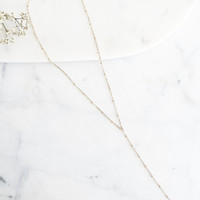 Taylor Lariat Necklace