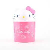 Hello Kitty Dust Bin: Bows