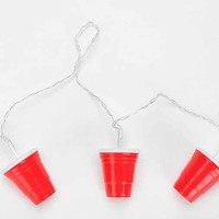 Red Cup String Lights- Assorted One
