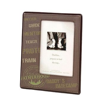 Daddy's Base Camp Picture Frame