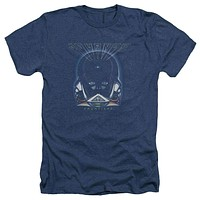 Mens Journey Frontiers Cover Heathered Tee Shirt