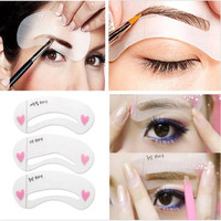 3 Stencil EyeBrow Shaping  Kit