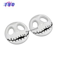 Halloween Car Stickers For Skull Logo Auto Modified Decals Metal Badge Decoration For Jeep Ford Honda KIA Mitsubishi Opel BMW