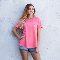 Coral Reef Oversized Tee