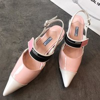 Prada Women Fashion Casual Heels Shoes