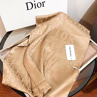 Dior New fashion more letter print scarf women
