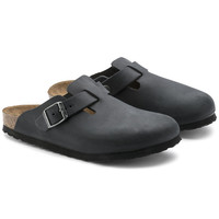 Boston Oiled Leather Black | shop online at BIRKENSTOCK