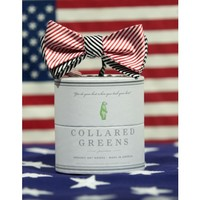 CG Mixer Bow in Red/Black by Collared Greens