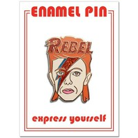 THE FOUND PIN - DAVID BOWIE REBEL