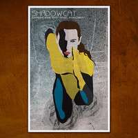 Shadowcat XMen Comic Character Poster by ModernStylographer