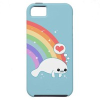 Cute Manatee iPhone 5 Case from Zazzle.com