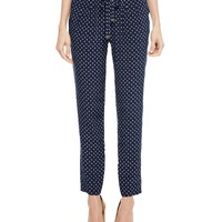 Printed Silk Track Pant by Juicy Couture