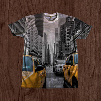 New York City Print Shirt unisex Youth & Adult size tshirts USA Handmade *Fast Shipping*