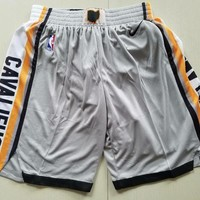 Nike Cleveland Cavaliers Basketball Short Gray