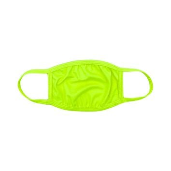 Neon Nights Yellow Surgical Face Mask