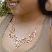 Geometric Tribe {Necklace}