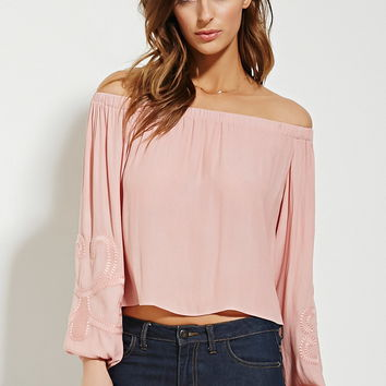 Contemporary Embroidered Top
