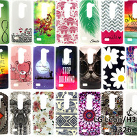 For LG K7 K10 V10 Leon LG G Stylo G4 Stylus LS770 Fashion Diverse Pattern pattern Phone Cases Cover Soft TPU Silicone Case