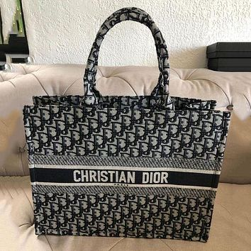 Dior CD Classic Handbag Ladies Shoulder Bag Shopping Bag