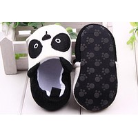 Lovely Baby Boy Girl Knitted Crib Shoes Infant Toddler born Cartoon Elastic First Walkers Soft Slipper Crib Shoes