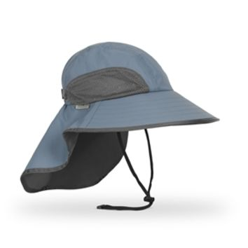 Adventure Hat Lrg Chambray Charcoal
