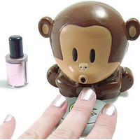 Funny Blow Monkey Nail Drier Funny Gift