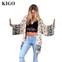 Womens Tops and Blouses  Kimono Cardigan