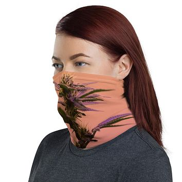 Purple Haze Neck Gaiter Face Mask - Unisex