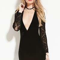 Motel Rocks Velvet Bodycon Dress