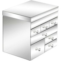 Legacy 7 Drawers Jewelry Box