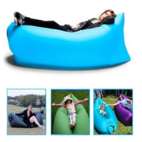 Fast Inflatable laybag Sleeping Bag Hangout Lounger Air Camping Sofa Portable Beach sleep Bed Lazy bag Chair [6269784196]