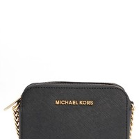 MICHAEL Michael Kors 'Jetset Travel' Saffiano Leather Crossbody Bag | Nordstrom