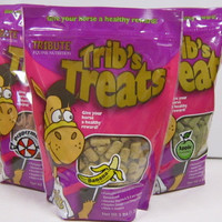 Trib's Treats in 3 Flavors: Apple, Banana and Peppermint