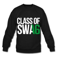 CLASS OF SWAG (2016) Green with no bands Sweatshirt   Spreadshirt   ID: 10919666