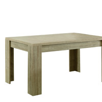 "Natural Reclaimed-Look 36""X 60"" Dining Table"