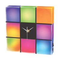 Cresta LED Color Changing Panel with Clock