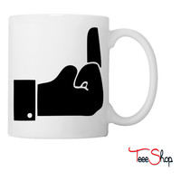 Like Middle Finge Coffee & Tea Mug
