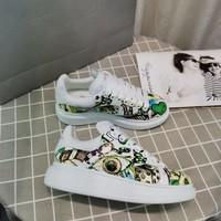 Alexander Mcqueen Graffiti Oversized Sneakers Reference #9