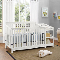 Dorel Baby Relax Bailey Crib and Changer Combo-White