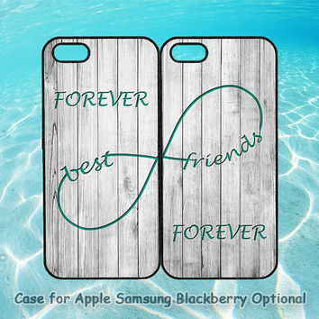 Best Friends and wood for iphone 5 case, iphone 4 case, ipod 4, ipod 5, note 2, Samsung galaxy S3, Samsung galaxy S4, blackberry z10, q10