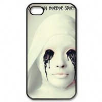 The American Horror Story Asylum Poster Iphone 4,4s Case Plastic New Back Case