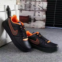 """Nike Air Force 1 x Givenchy"" Unisex Sport Casual Low Help Shoes Sneakers Couple Plate Shoes"