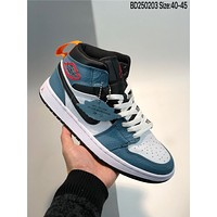Nike AIR JORDAN 1 MIDFearless AJ1 cheap Men's and women's nike shoes
