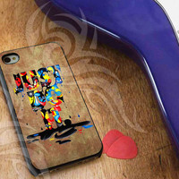 nike just do it colorful painting design For iPhone 4/4S iPhone 5/5S/5C and Samsung Galaxy S3 i9300 S4 i9500 *usahamodalsendiri*