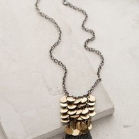 Sibella Fringe Necklace by Anthropologie Gold One Size Necklaces