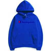 Champion  flame men and women long sleeve sets