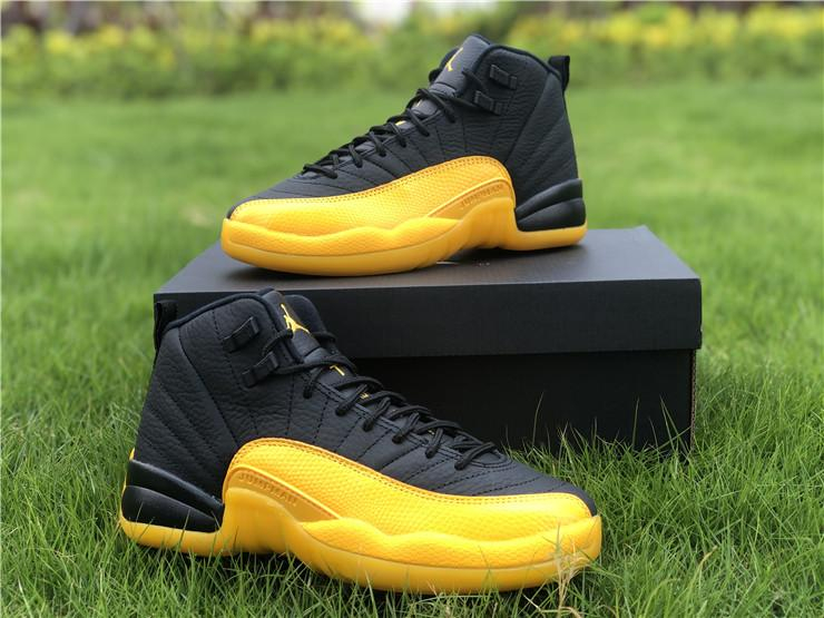 Image of VIP AJ12 black and yellow GS