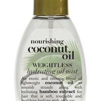 Nourishing Coconut Oil Weightless Hydrating Oil Mist